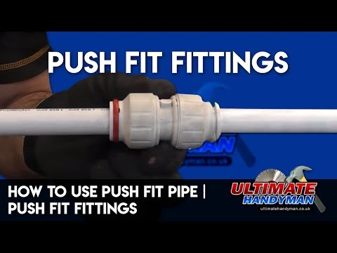 How to use push fit pipe | push fit fittings
