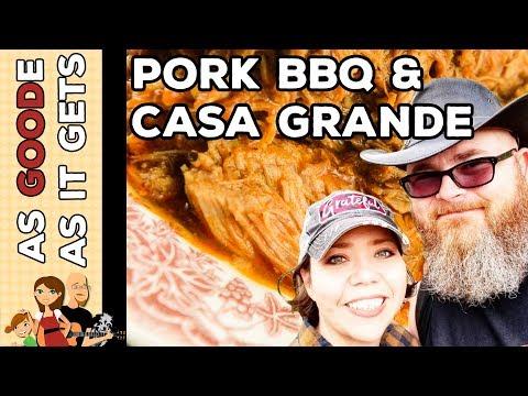 Crockpot Cola Pulled Pork BBQ // Casa Grande Ruins National Monument // RV Living