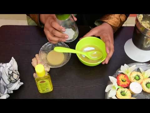 Homemade Ginger And Olive Oil Hair Oil For Long Hair, Thick hair and Healthy Hair. Stop Hair Fall