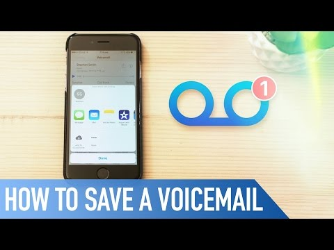 How to save a voicemail from your iPhone | Quick Tips