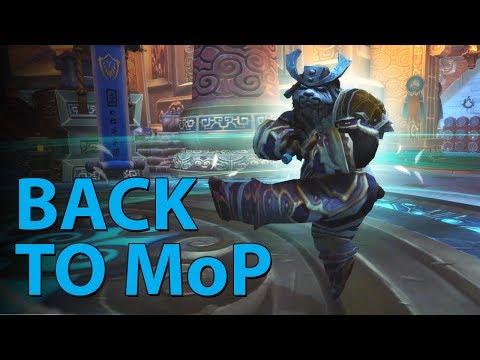 Back To MoP (WoW Machinima)