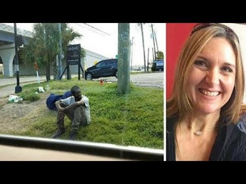 Depressed Homeless Man Sits In Same Corner For 3 Years – Then Curious Mom Steps In