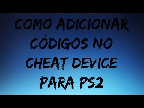 Como adicionar códigos no Cheat Device Ps2