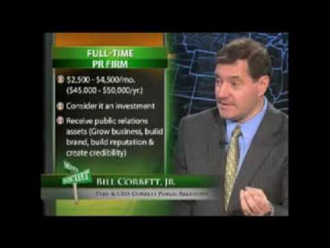 Bill Corbett Jr. on FIOS1- How To Get Press For Your Business