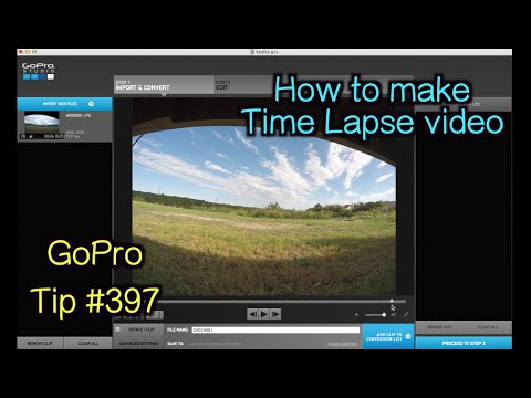 GoPro Studio: How To Make A Time Lapse Video - GoPro Tip #397