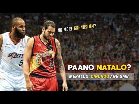 Paano Natalo ng Meralco ang SUPERTEAM ng PBA | SMB's Problems