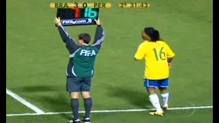 The Day Ronaldinho Substituted & Changed The Game