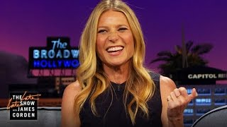 Gwyneth Paltrow Sings an AC/DC Guitar Solo ...with Her Mouth