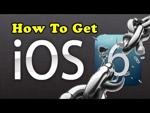 How To Get iOS 6.0 Firmware Onto Your iDevice Now!