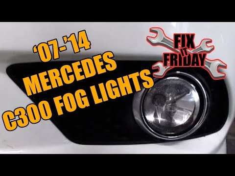 2007-2014 Mercedes C300 Fog light bulb (W204)