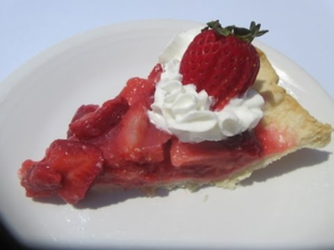 Classic STRAWBERRY PIE - How to make STRAWBERRY PIE Recipe