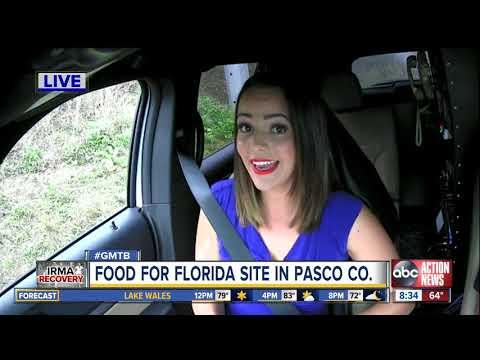 Familiar long lines string around Pasco fairground for disaster food program