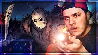 THIS DUDE HAS WALL HACKS!!! | Friday the 13th Game