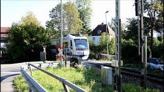 """Bahnübergang Miesbach """"Lindenplatz"""""""
