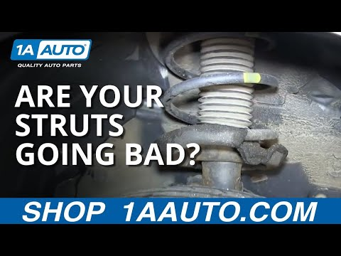 How To Tell if your struts are leaking or going bad