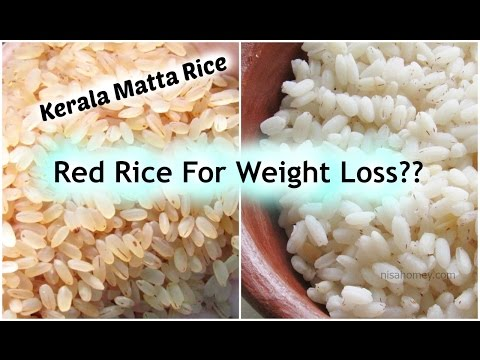Brown/Red rice for weight loss? How To Cook Kerala Matta Rice & De-Starch Red Rice - Health Benefits