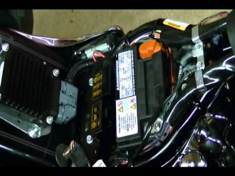 Motorcycle Repair: How to Replace a Battery on a Harley Davidson Motorcycle