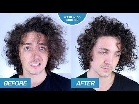 Curly/Wavy Hair Routine - Wash n Go