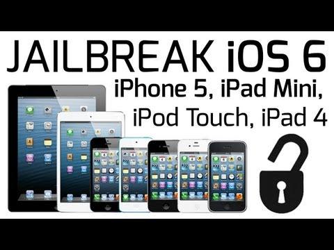 How to: Jailbreak iPhone, iPad Mini and iPod on iOS 6.x (Mac)