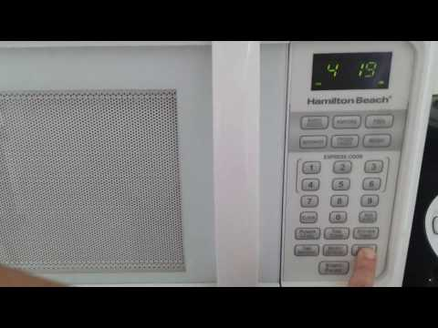 Hamilton Beach Microwave Setting Child Lock