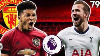 Manchester United vs Tottenham - EPL - #79 PES 2020 Master League