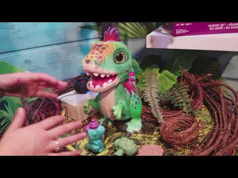 FurReal Friends Munchin' Rex Dinosaur Wants to Be Your Jurassic Pet