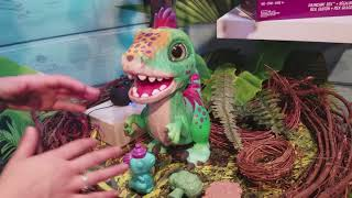FurReal Friends Munchin' Rex Dinosaur Wants to Be Your Jurassic Pet