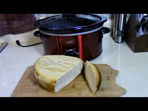 How to make Bread in a Slow Cooker Crock Pot