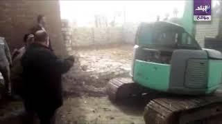 #x202b;صدى البلد | محافظ الفيوم يشرف على إزالة مبنى مخالف بـ سنهور القبلية#x202c;lrm;