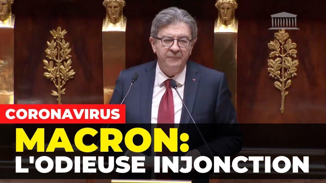 CORONAVIRUS - Macron : l'odieuse injonction