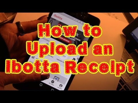 How to Use Ibotta- How to Upload a Receipt to Claim Your Rebates- Shopping App Tutorial