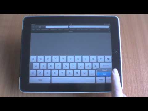 iPad tip - Split the on screen keyboard.mp4