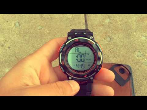 Demonstration speech- How to use digital Armitron watch