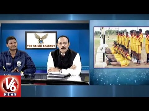 Police And Defence Jobs | Preparation Tips | TNR Sainik Academy | Career Point | V6 News