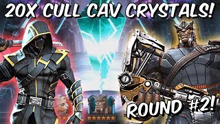 Download 20x 6 Star Cull Obsidian Cavalier Featured Crystal Opening #2! - Marvel Contest of Champions Video