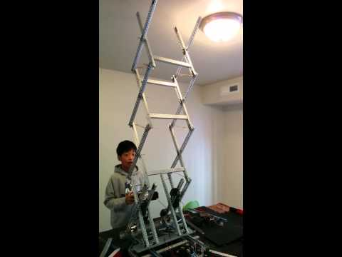 Vex Robotics 1410 L Utopic Unicorn Scissor Lift