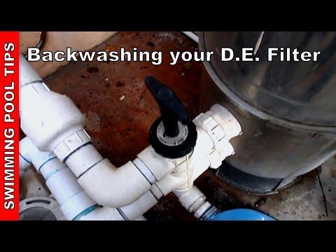 Backwashing your pool filter