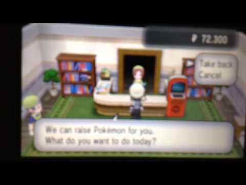 Pokemon X, Daycare Shiny Egg!