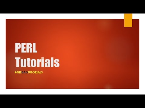 Perl Tutorial - 52: Writing Text to a File
