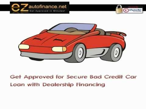 Dealership Auto Financing can Benefit Bad Credit Borrowers in Getting a Car Loan