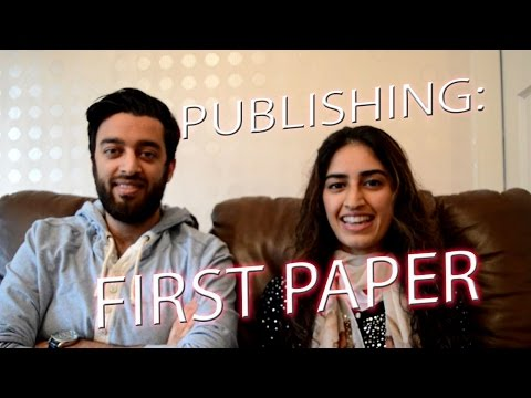 Publishing Your First Research Paper