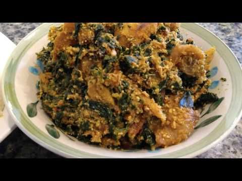 HOW TO COOK DELICIOUS EGUSI AND SPINACH SOUP | AFRICAN MELON SOUP