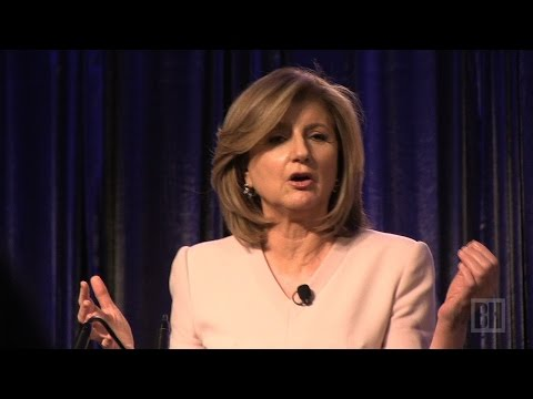 Arianna Huffington urges women to sleep, enjoy life before it's too late