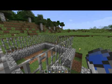 How To Make A Pet Cage In Minecraft