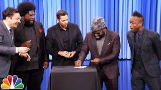 David Blaine Shocks Jimmy and The Roots with Magic Tricks