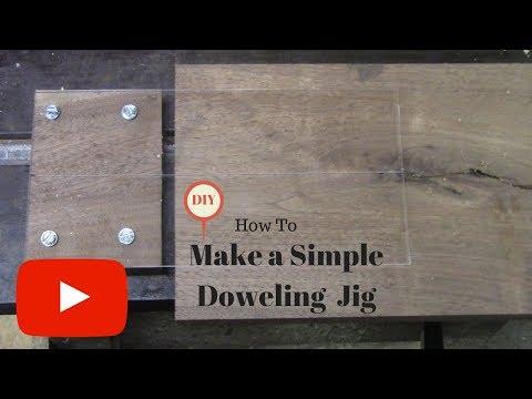 DIY Simple Doweling Jig!!
