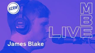 "James Blake performing ""Barefoot In The Park"" live on KCRW"