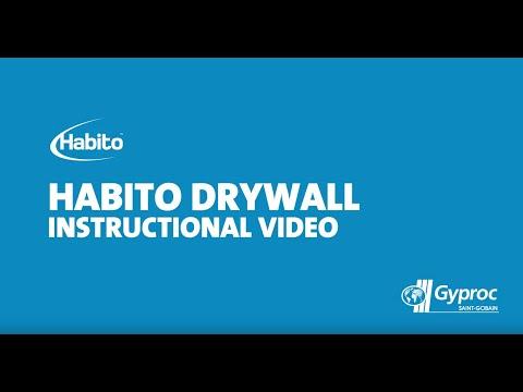 Gyproc Habito Drywall Instructional Video