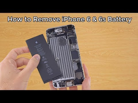How to Replace Battery from iPhone 6 or 6 Plus