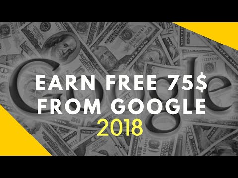 How To Make 75$ Per Hour From Google(Online Earning)-2018
